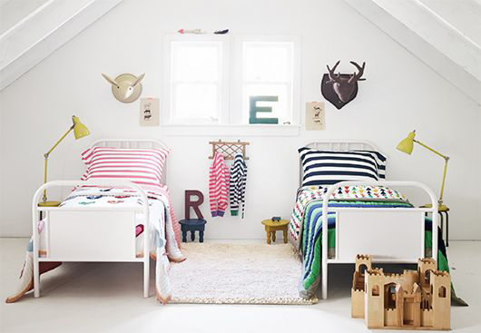 фото детской комнаты для мальчика и девочки 7