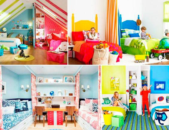 фото детской комнаты для мальчика и девочки 6