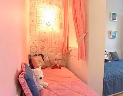 дизайн детской комнаты для двух разнополых детей с фото 2