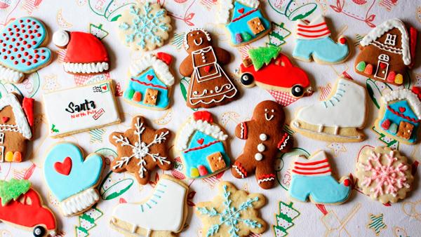 шоколадная глазурь для новогоднего печенья