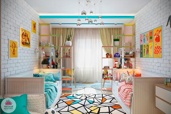 мебель в комнату для разнополых детей