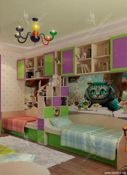фото детской комнаты для мальчика и девочки 5