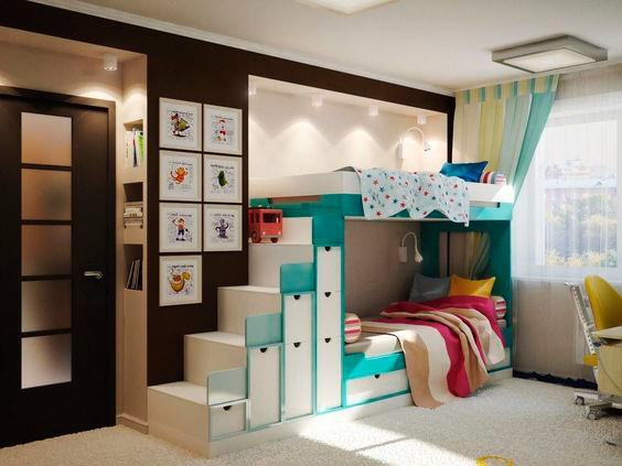 фото детской комнаты для мальчика и девочки 4