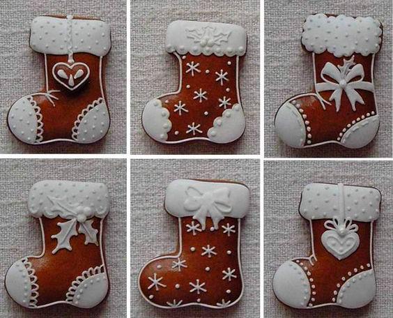 классическая глазурь для новогоднего печенья