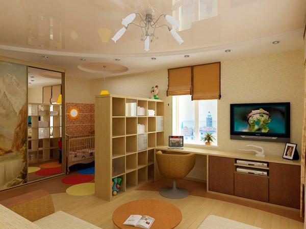 подиум в детской комнате