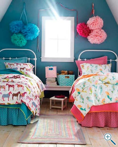 детская комната для двух разнополых детей 3