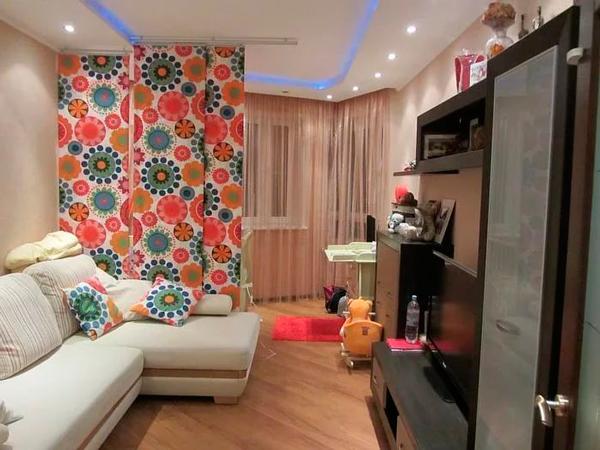 дизайн детской гостинной