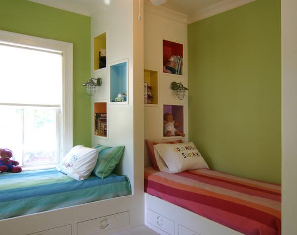 комната для двух малышей