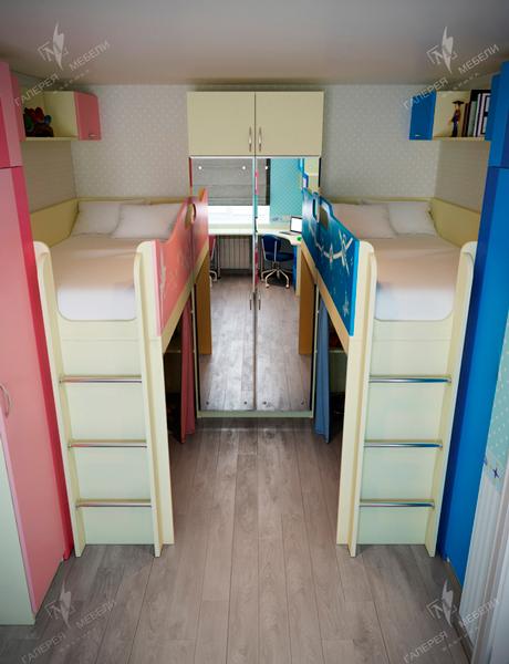 комплекты мебели для вух разнополых детей