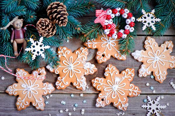 рецепт новогоднего печенья с глазурью