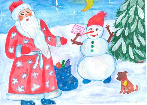 стихи про новый год и зиму в детском саду