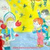Стихи про Новый год в детском саду