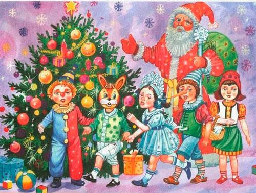 новогодние стихи для утренника в детском саду