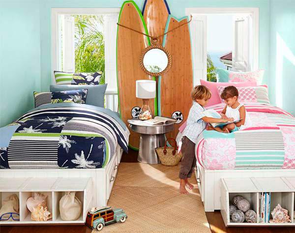 фото спальни для мальчика и девочки