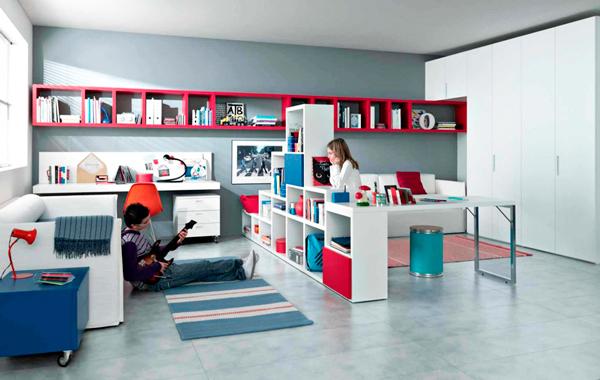 фото комнаты двоих разнополых детей