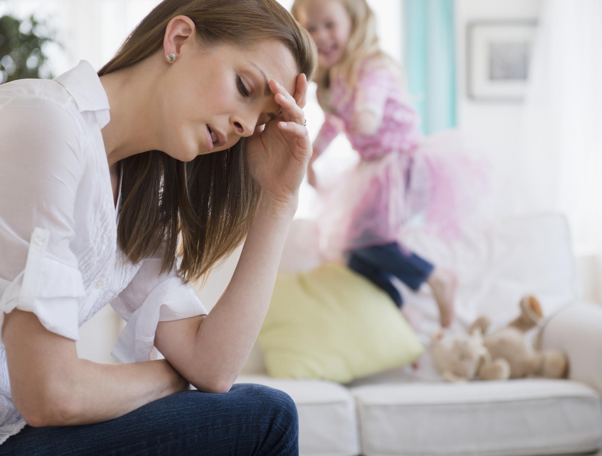 мама устает от ребенка что делать