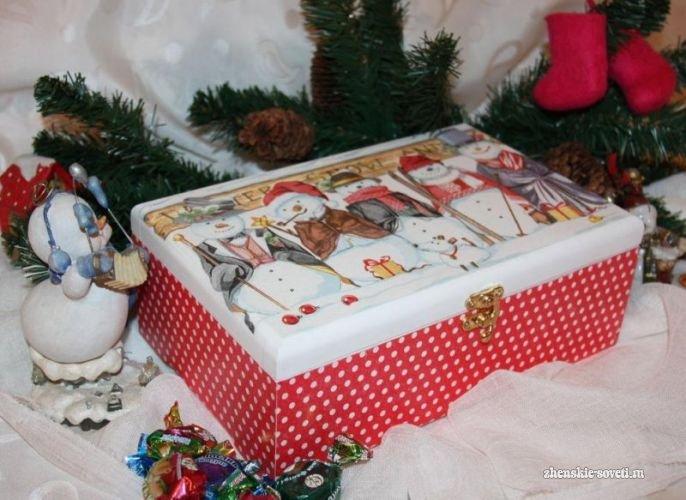 Какой подарок подарить маме на Новый год 2018: шкатулка