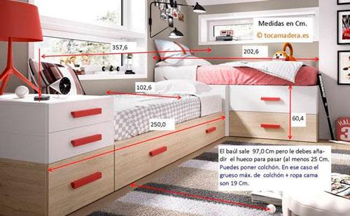 как расставить мебель в детской комнате 1