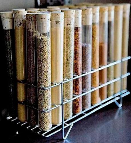 Порядок на кухне: хранение специй