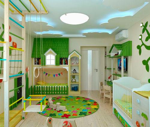 Как расставить мебель в детской комнате 4