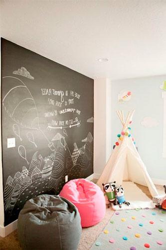 расположение мебели в комнате ребенка 5