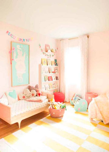 бежевая комната для ребенка 2