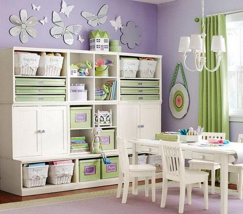 как правильно раставить мебель в детской 2