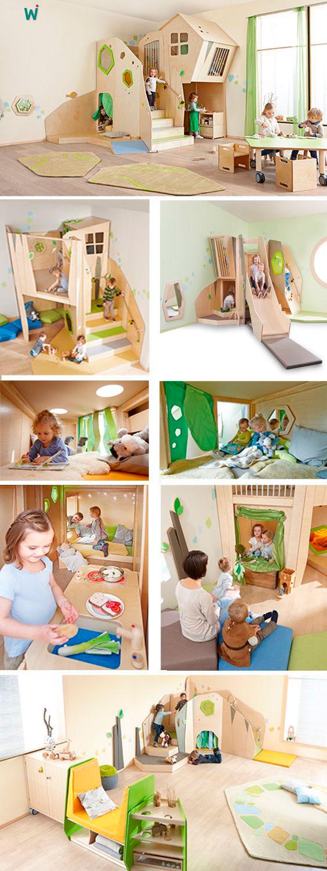 бежевая комната для детей 5