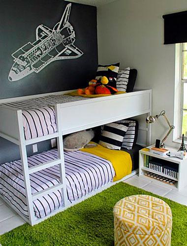 как правильно раставить мебель в детской 11