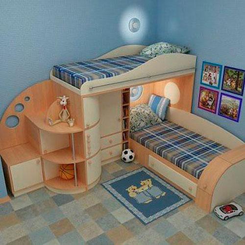 как правильно раставить мебель в детской 6