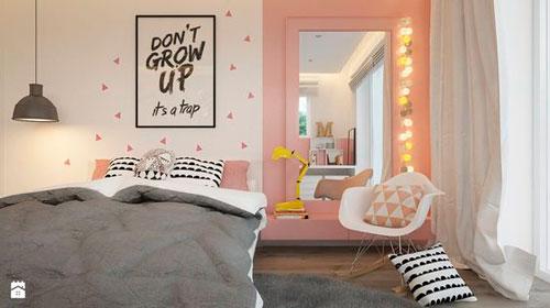 интерьер детской комнаты в бежевом цвете 16