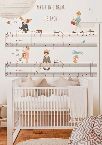 бежевая комната для малыша