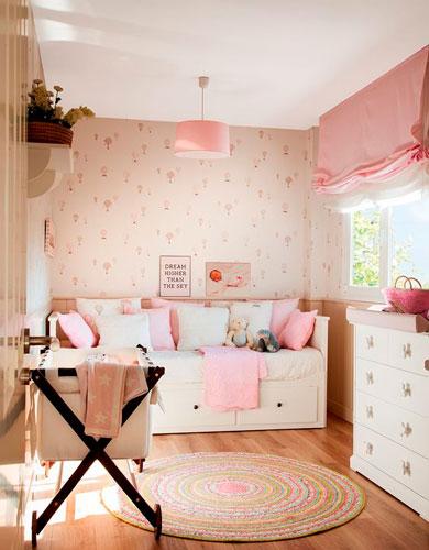 контрастные цвета в бежевой комнате для детей 5