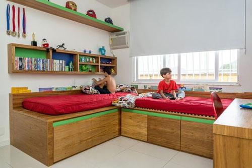 план расположения мебели в детской 7