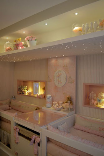 бежевая комната для малышей
