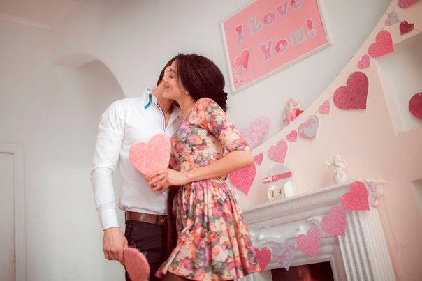 Идеи для фотосессии на день святого Валентина