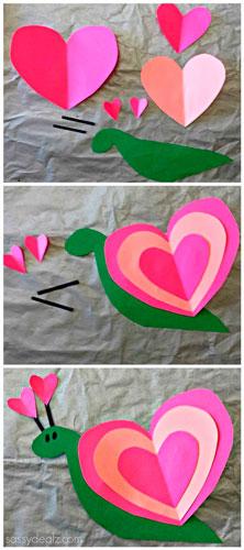 поделка мышка из бумаги ко дню святого Валентина 4