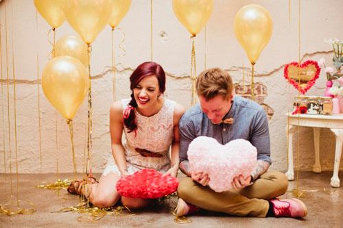идеи для фото на день святого Валентина для пары