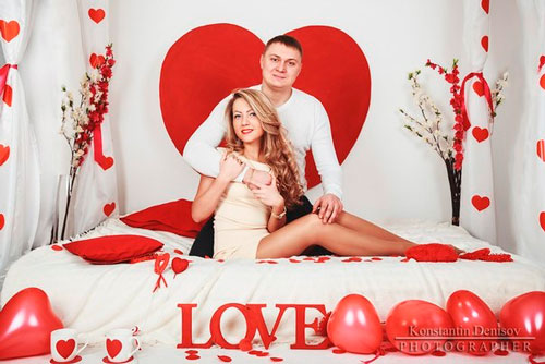 Идеи для фото на День святого Валентина