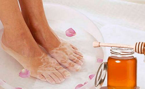 как очистить кожу пяток