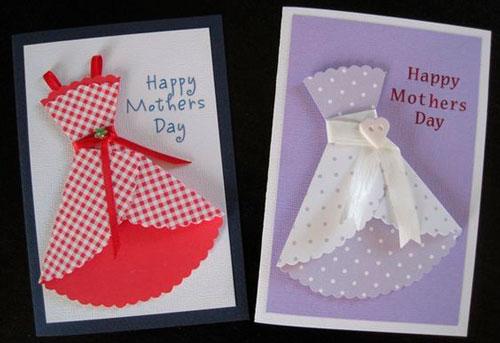 открытки с платьями к 8 марта
