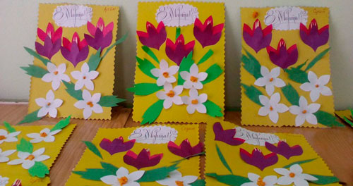 красивые открытки на 8 марта для мамы