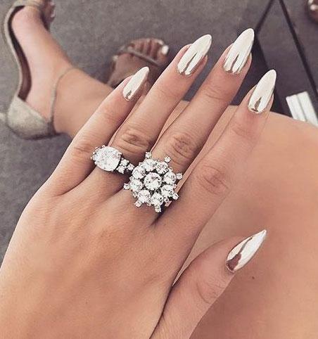 Новый дизайн: острые ногти