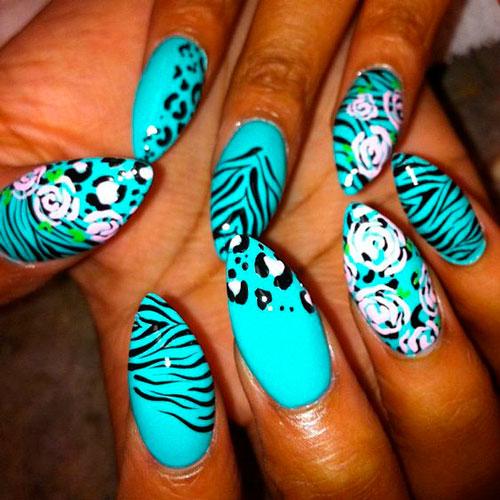 дизайн ногтей для вечеринки