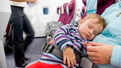 полет на самолете с грудным ребенком