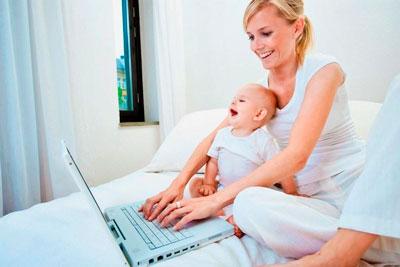 Как маме подработать в декрете