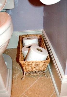 как навести порядок в туалете