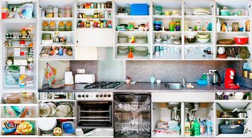 как навести уют и порядок на кухне
