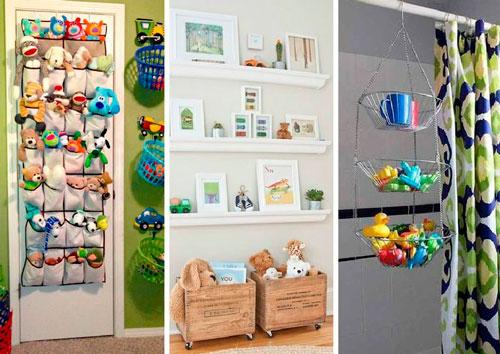 чистота и порядок в детской комнате