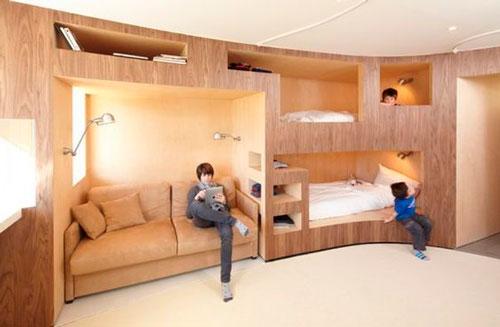 детская комната для трех подростков
